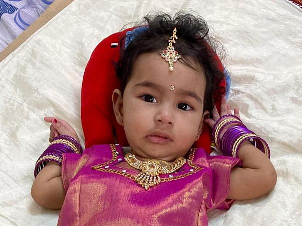 Help Khyati, 9 months old fighting with Spinal Muscular Atrophy Type 1