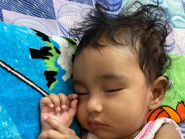 Help Baby Khyati To Fight Spinal Muscular Atrophy Type 1