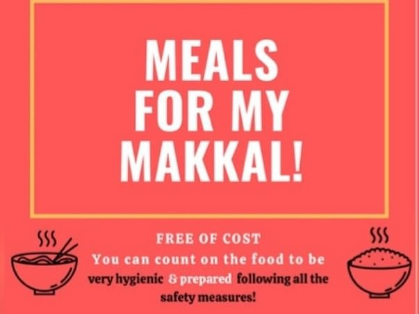 Help feed COVID-19 affected people in Chennai