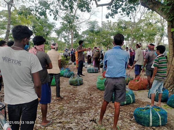 Fundraising for Adivasis working in the Tea gardens of Assam