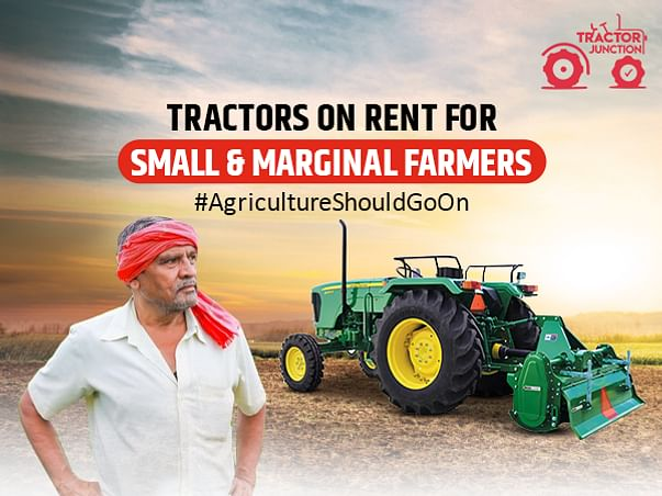 Covid 19 Fundraiser - Free Tractors On Rent For Indian Farmers