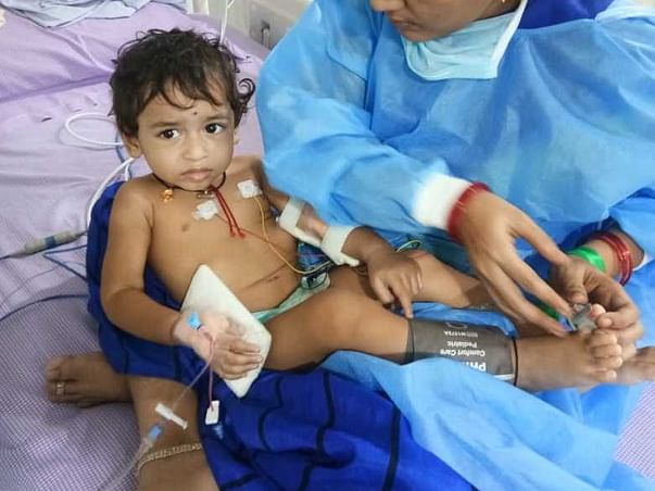1 Year Old Charan Needs Your Help Fight Blood Motions