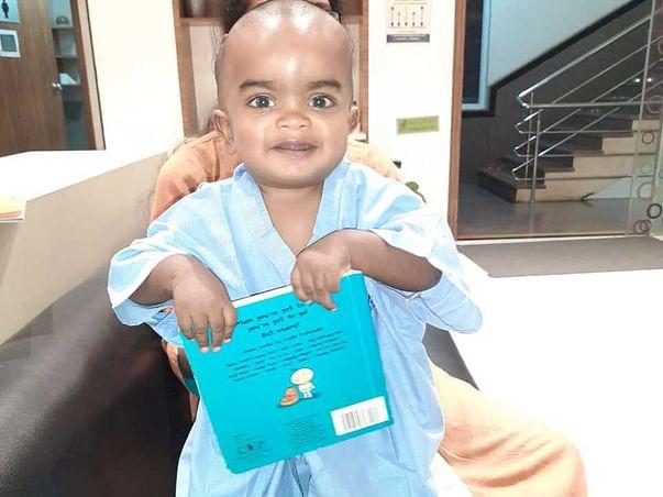 1 Year Old Kushal Needs Your Help Fight Mucopolysaccharidosis