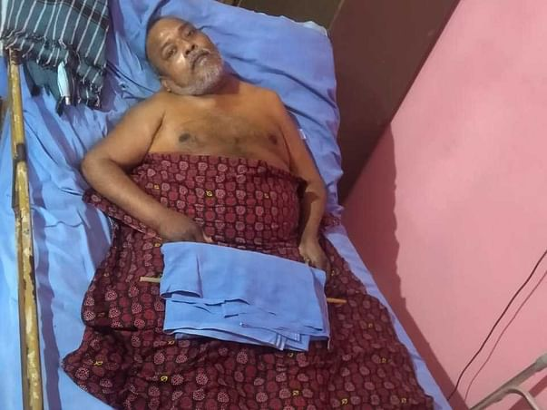 Help My Father Fight Physically Challenged