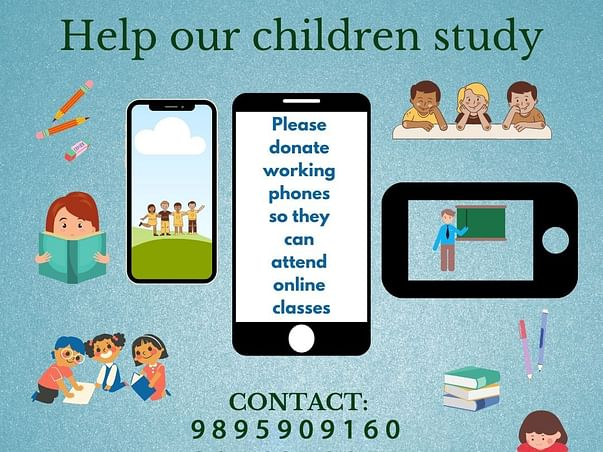 Help the less privileged students in Channankara attend online classes