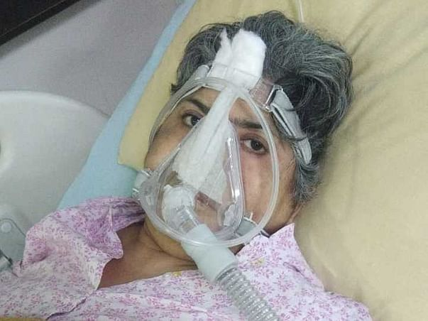 Please Help My Mother Anamika Chawla In Fighting Post Covid Fibrosis