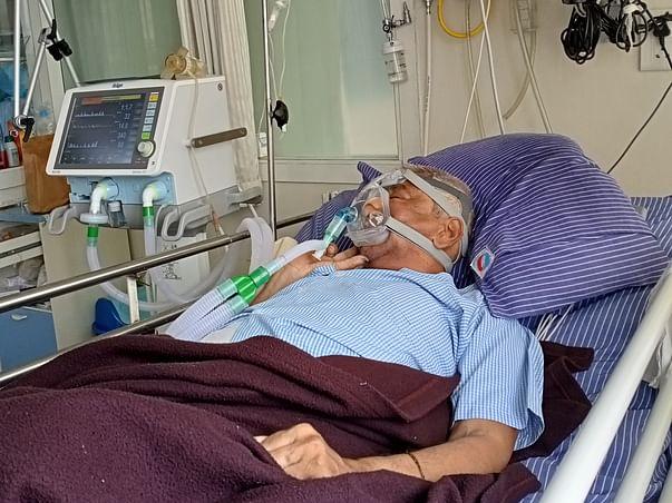 Help My Father to Fight COVID Pneumonia & Respiratory Failure