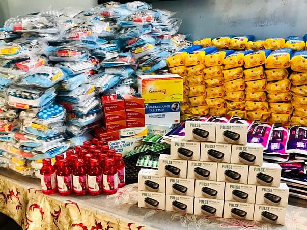 PROVIDE MEDICAL KITS TO 500 TRIBAL FAMILIES OF BIND TOLI ,DIGHA-PATNA