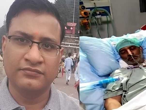 Please Help Rohit Gupta To Get His Lungs And Life Back