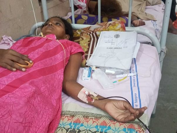 Support Sunitha To Recover From Liver Cirrohsis
