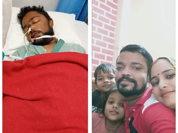 Support Rajanti Ji & her family after demising of Mr. Mukesh Kumar