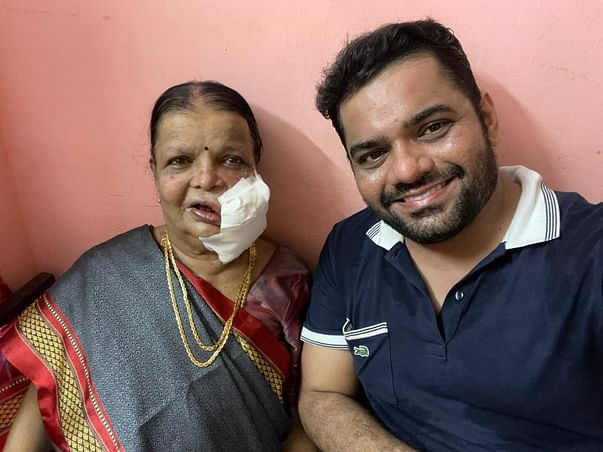 Help COVID Warrior Dr. Abhishek Save His Grandmother From Cancer