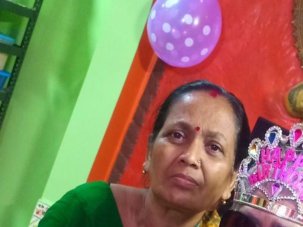 Help My Mother Anju Chakraborty To Undergo Medical Treatments
