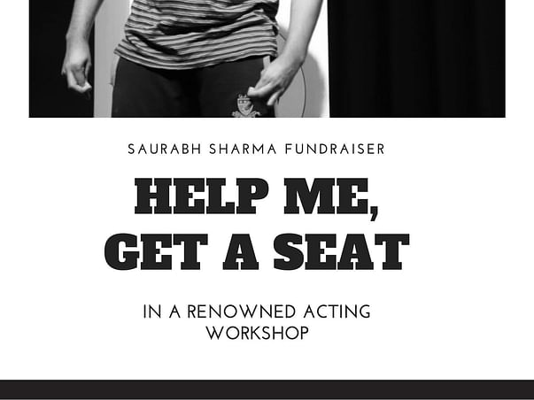 HELP ME GET A SEAT IN A RENOWNED ACTING WORKSHOP