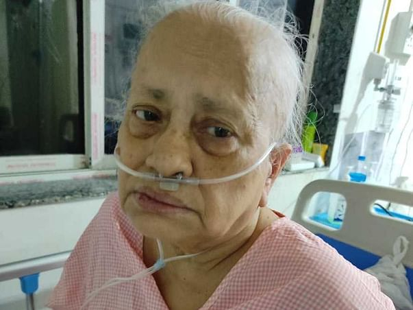 Support Sankari Saha Recover From Breast Cancer & Lungs Infection