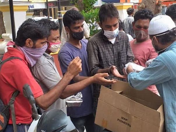 ''Free Food & Ration For The Needy''
