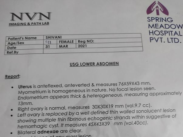 Help me from Cancerian utreus cyst..utreus needs to be removed. .