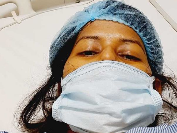 Support Indu Rani Recover From Hip Joint Disease