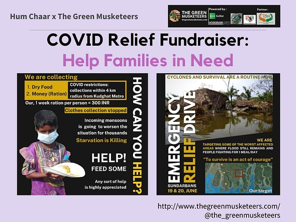 COVID Relief Fundraiser: Help Families in Need