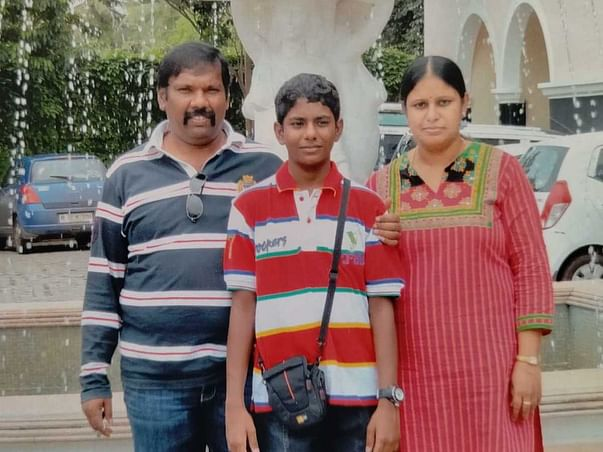 Support For Late Ramesh's Family