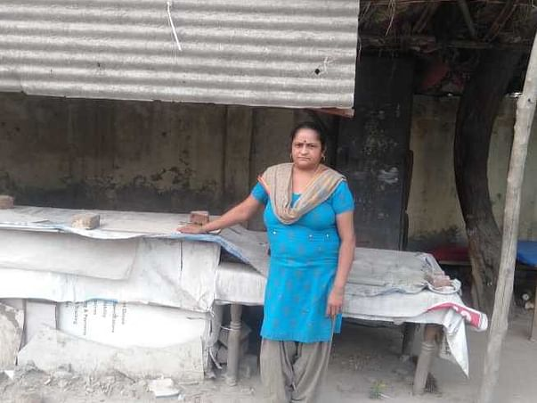 Help Sanju Rani To Restart Her Dhaba And For Education Of Her Kids