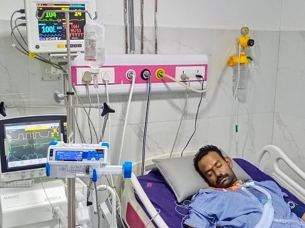 Help Ponugoti Prashanth Rao To Recover From Lung Damage
