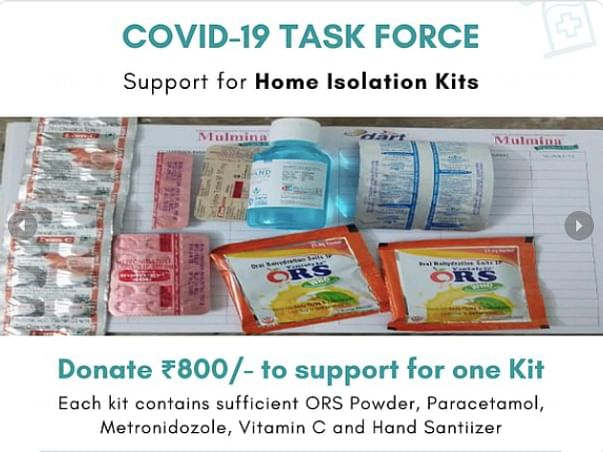 Support Sustenance Kits for Covid Positive Families