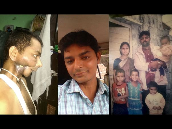Help Saleem ( suffering from cancer )  pay for his 4 kids education