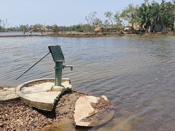 Support Drinking water in Cyclone Yaas affected villages of Odisha
