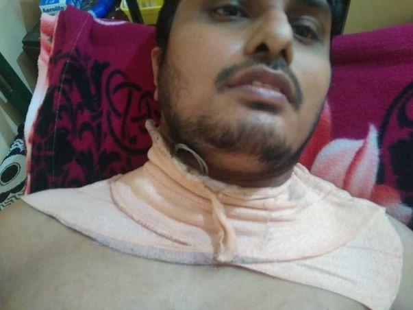 Please Support Naveen Kumar 32yrs Recover Covid & AV Blockage