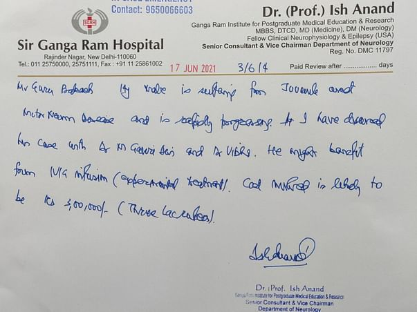 Fundraising For Guru Prakash To Fight Motor Neuron Disease