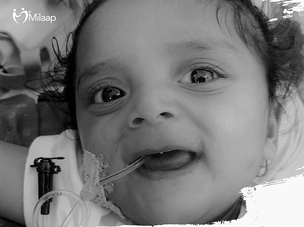1-year-old master Janish needs your help to fight SMA Type 1!