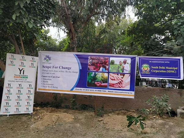 Tree Plantation Drive:  A PANACEA By SFC