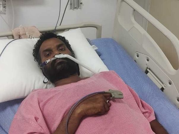 Lingamurthy needs your help for getting his life back. Covid and black