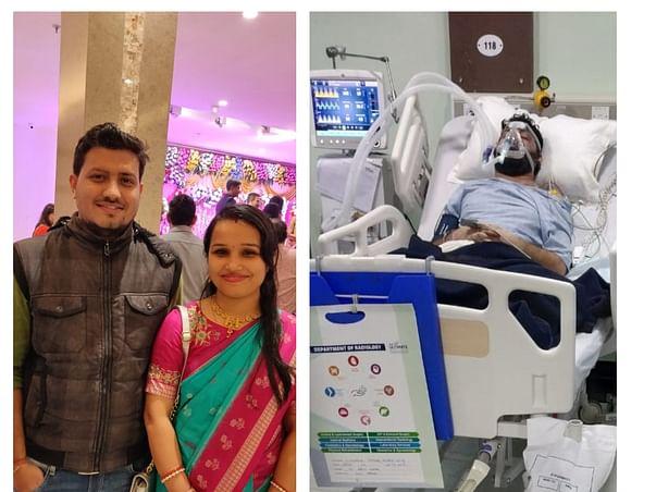 Siddharth Shankar Mishra Needs Your Help To Fight Covid-19 Pneumonia