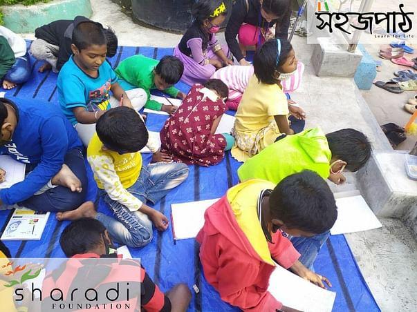 Help the Children of Sahajpath school