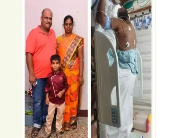 Help My Husband Santhosh Battle COVID-19