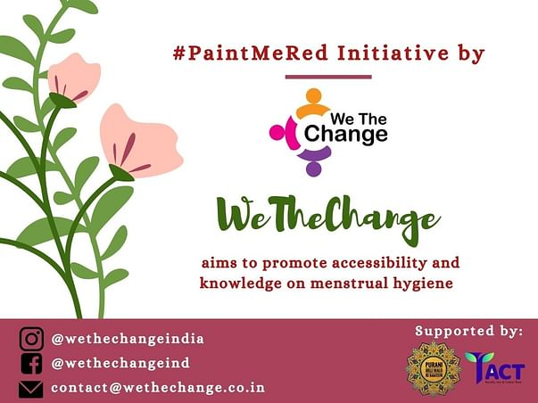 #PaintMeRed: Empowering 1000 Menstruators with Menstrual Health Kit
