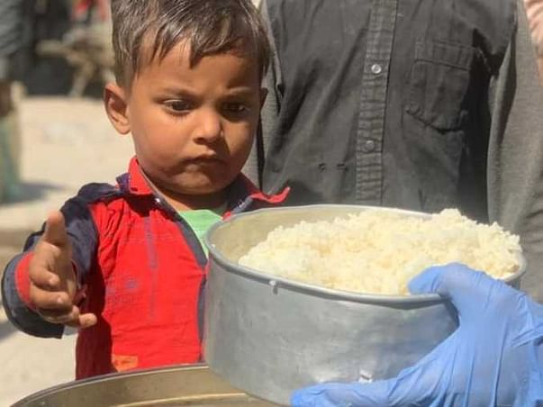 Helping Children Get Meals Who Are In Worst Condition During Covid