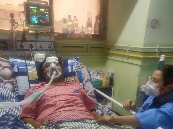 Help My Husband Deependra Fight Lung Fibrosis