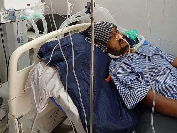 Support 37 Yrs Old Chetan Prabhakar Thakur Recover From Spinal Injury