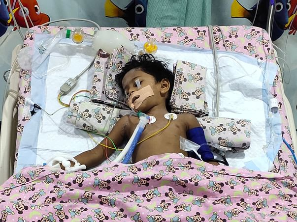 Dhashwin Saai has been passed away. Pl support to clear hospital exp