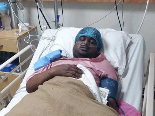 31 Years Old Shashank Shankar Pandey Needs Your Help Recover Lung Infection & Mucormycosis.