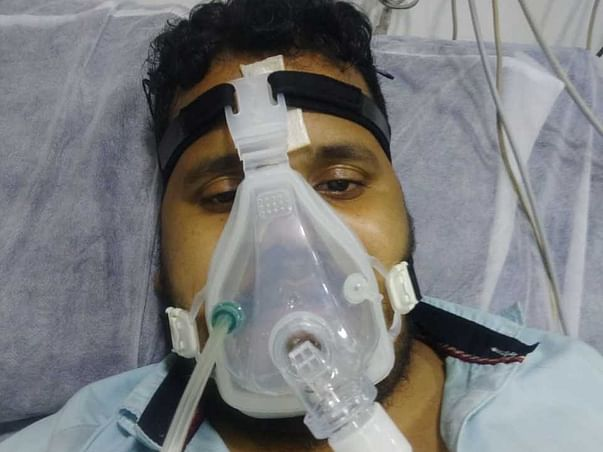 28 Years Old Samir Needs Your Help Recover Lung Infection.