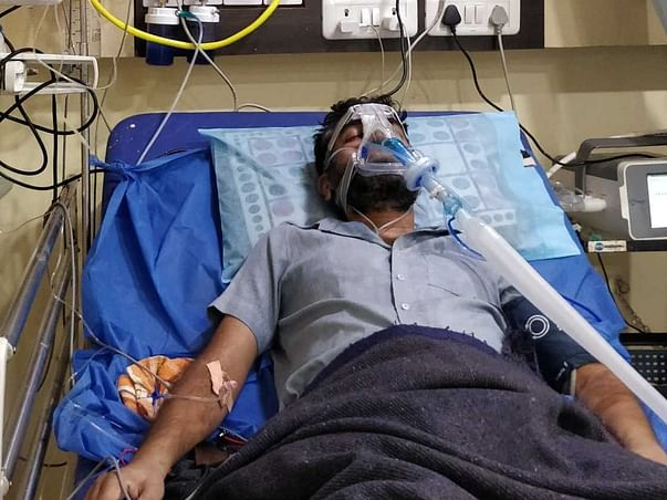 36 years old Shailesh Gaikwad needs your help fight post covid lungs damage