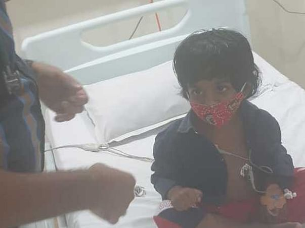 Help 3 YR S.SAANVI  FIGHT MISC [MULTISYSTEM INFLAMMATORY SYNDROME]