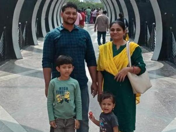 Support Saikiran V Family