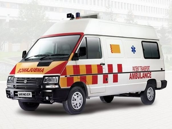 Ambulance For Villagers affected by COVID-19 and other diseases