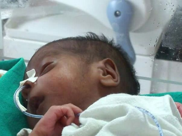 Help this preterm baby who lost his mother