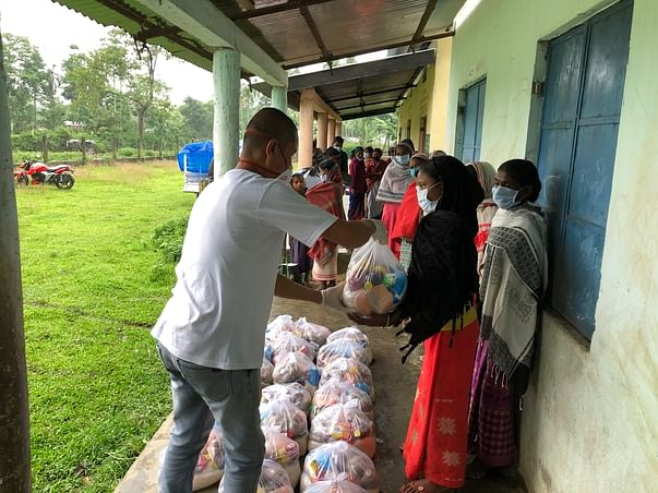 Help Us Feed Families Affected by COVID-19 Pandemic